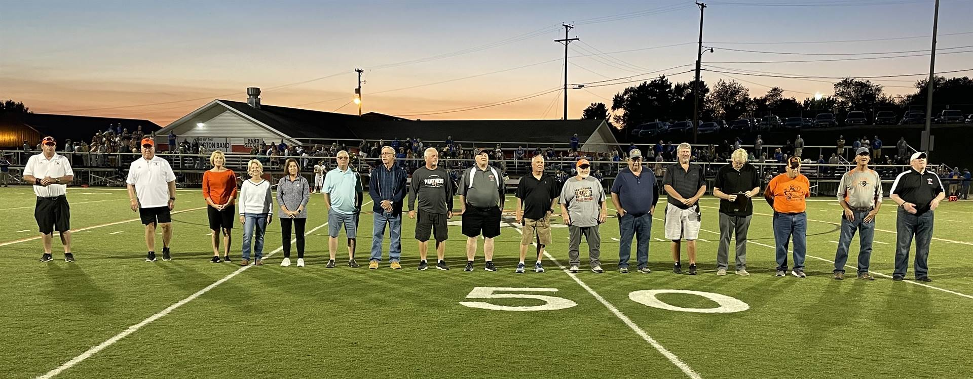 Honoring our 1970 Football Champions