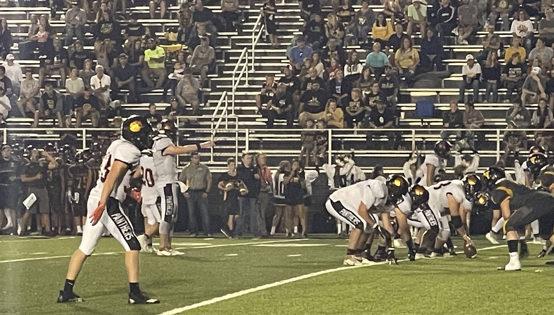Varsity Football taking on Tri-Valley