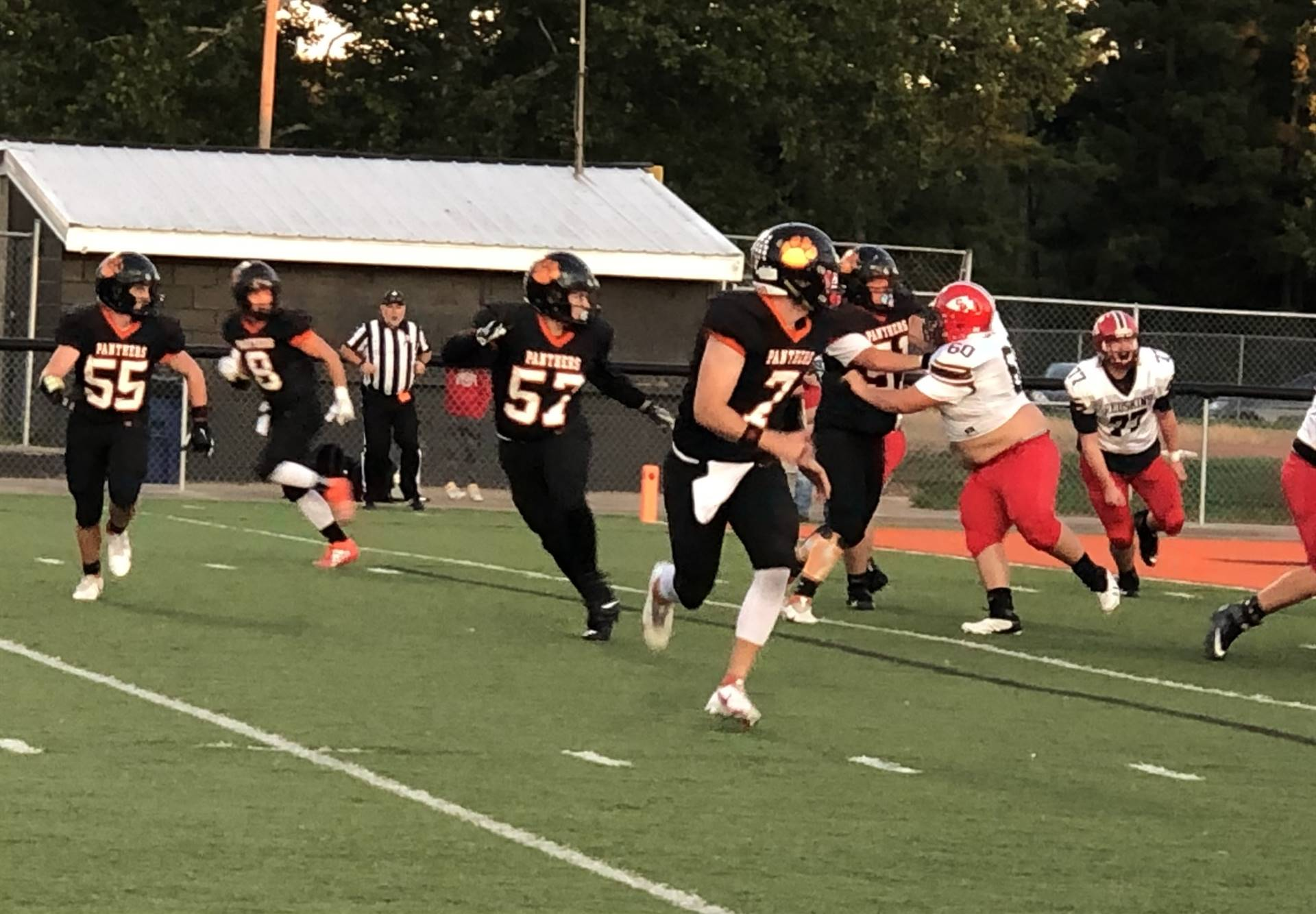 Varsity Football taking on Coshocton at Home
