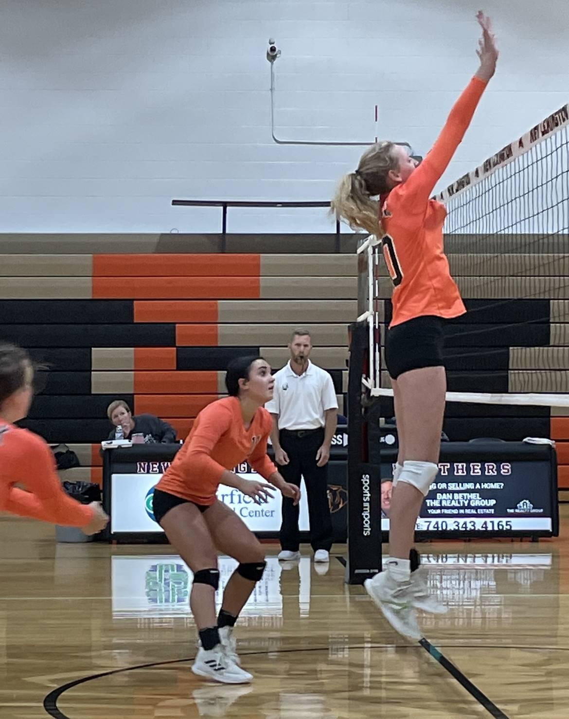Varsity Volleyball taking on Fort Frye