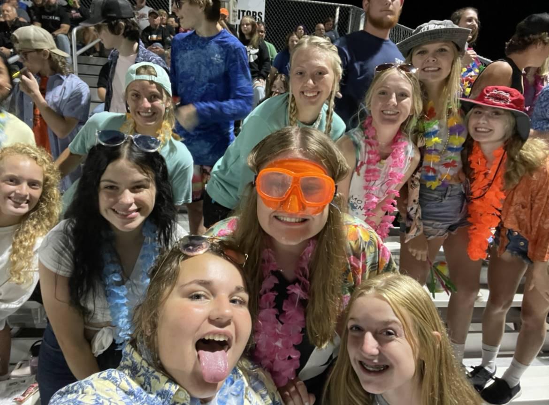 Student Section at John Glenn